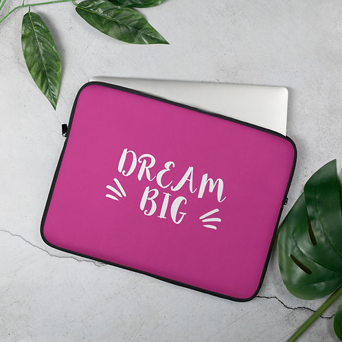 'Dream Big' Laptop Sleeve (2 Size Options)
