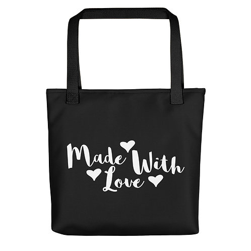 'Made With Love' Tote Bag