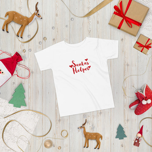 'Santa's Helper' Junior Tee (Short Sleeve)