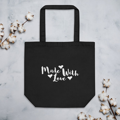 'Made With Love' Eco Tote Bag