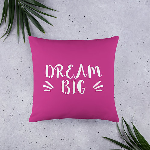 'Dream Big' Pillow (3 Size Options)