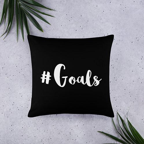'#Goals' Pillow (3 Size Options)