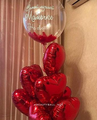 Сердца и Bubble