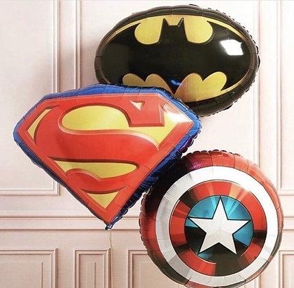 Эмблемы супергероев