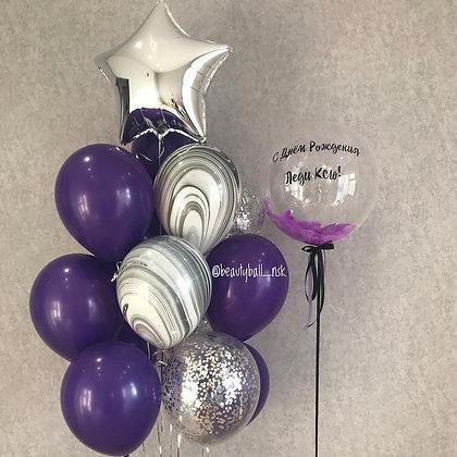 Bubble и связка Purple