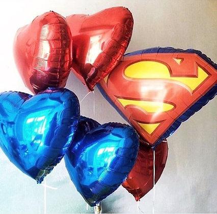 Супермен и сердца