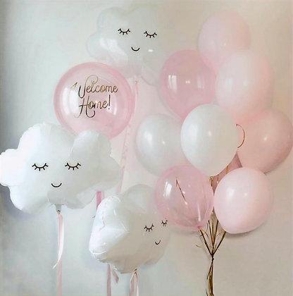 Pink с облаками