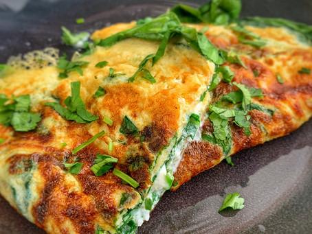 Omelette met een Thaise twist.