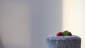 Overnight raspberry coconut trifle