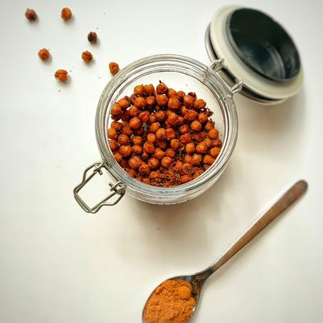 Geroosterde paprika kikkererwtjes
