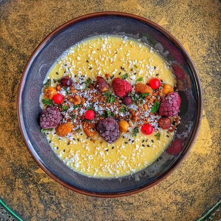 Mango protein bowl.