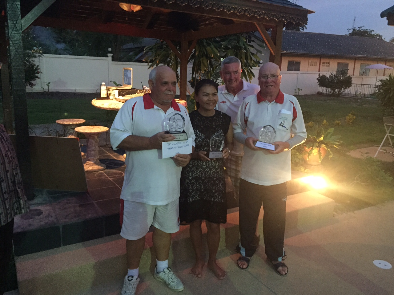 3rd Place 2015- The Singha Drinkers