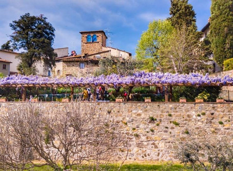 Oltre Il Giardino Restaurant  - the Bill is with Wine! - July 2020