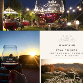 "Fabulous ""Dinner & Music"" Event on  28 th Aug at Borgo Casa al Vento - Gaiole in Chianti"