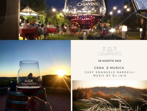 """Fabulous """"Dinner & Music"""" Event on  28 th Aug at Borgo Casa al Vento - Gaiole in Chianti"""
