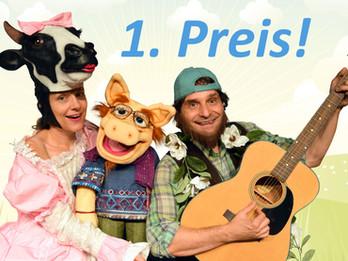 1. Preis beim Kindertheaterfestival in Rechberghausen!