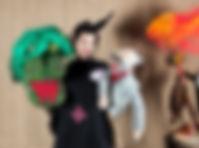 Musikalisches Mitmachtheater | Stumvogel Figuren
