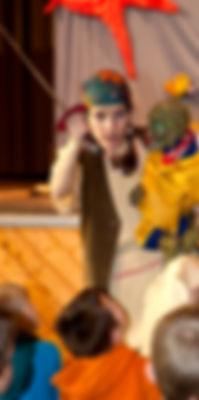 Kindertheater Piraten Sturmvogel Nepomuk