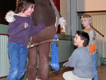 Kindertheater - Lernen, ohne dass man es merkt