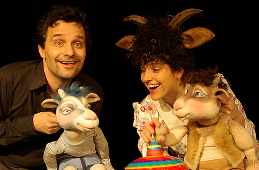 Kindertheater Märchen   Sturmvogel Geislein