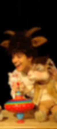 Kindertheater Märchen Sturmvogel  Kreisel