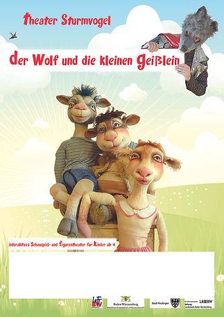 Kindertheater Märchen Sturmvogel Plakat