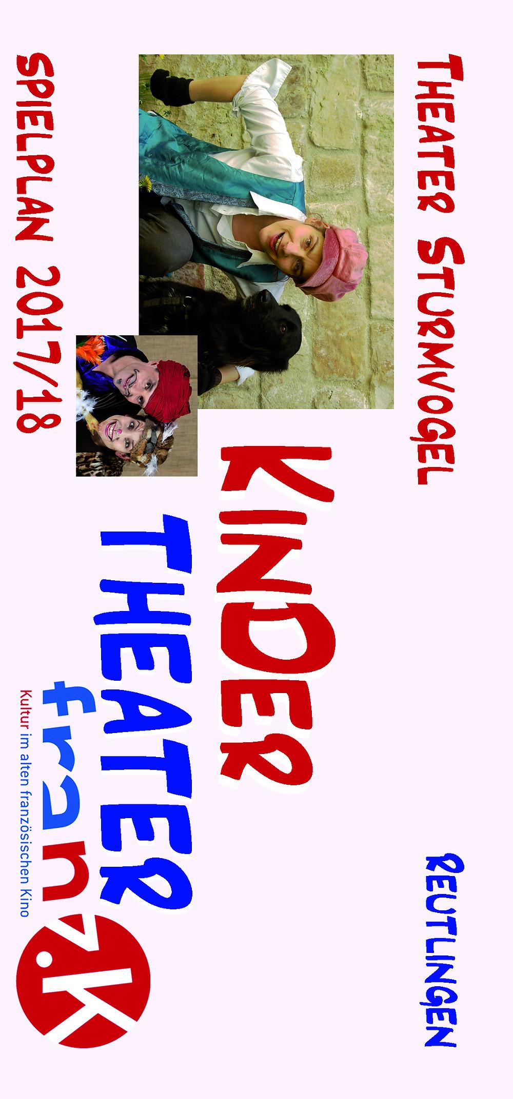 Kindertheater Reutlingen | Flyer franz.k