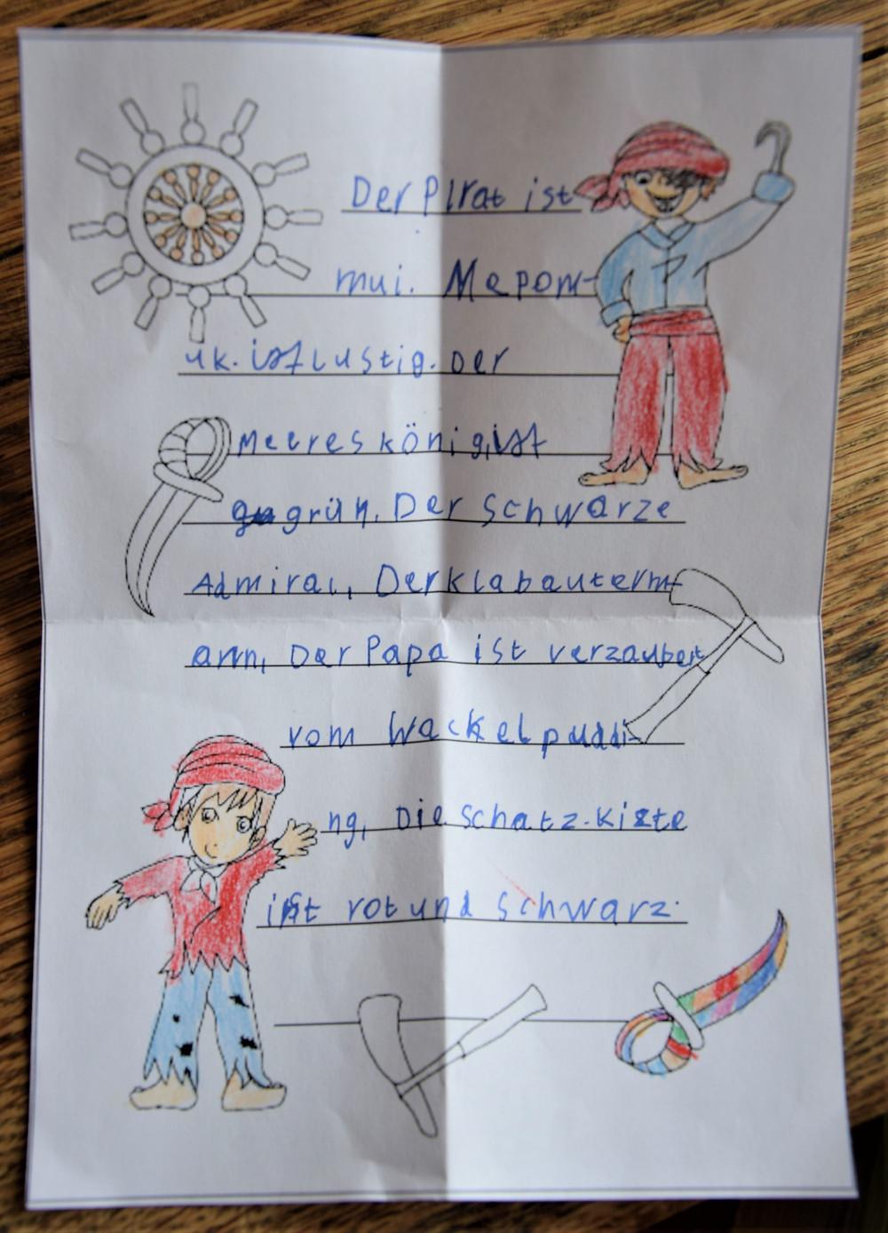 Kinderbrief Mohammed- Sturmvogel