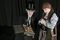 Kindertheater Weihnachten Scrooge