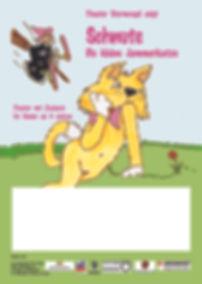 Kätzchen Schnute Sturmvogel Plakat