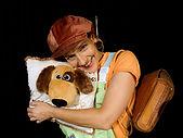 Theater mit Hund | Theater Sturmvogel  Kissen