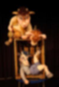 Kindertheater Märchen Sturmvogel  3 Geisslein