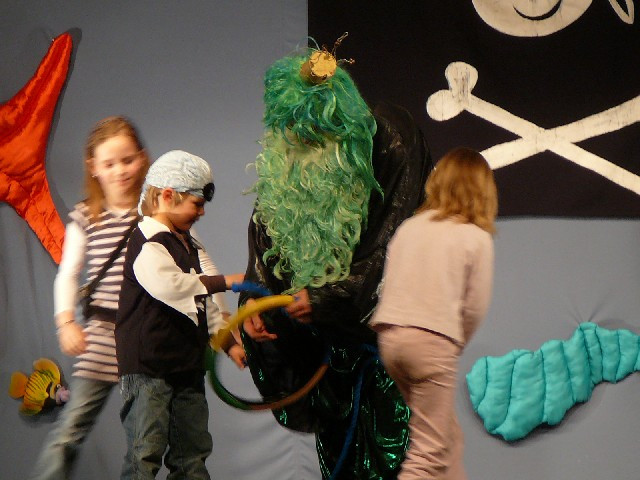 Kindertheater | Piratentheater Sturmvogel Wassermann