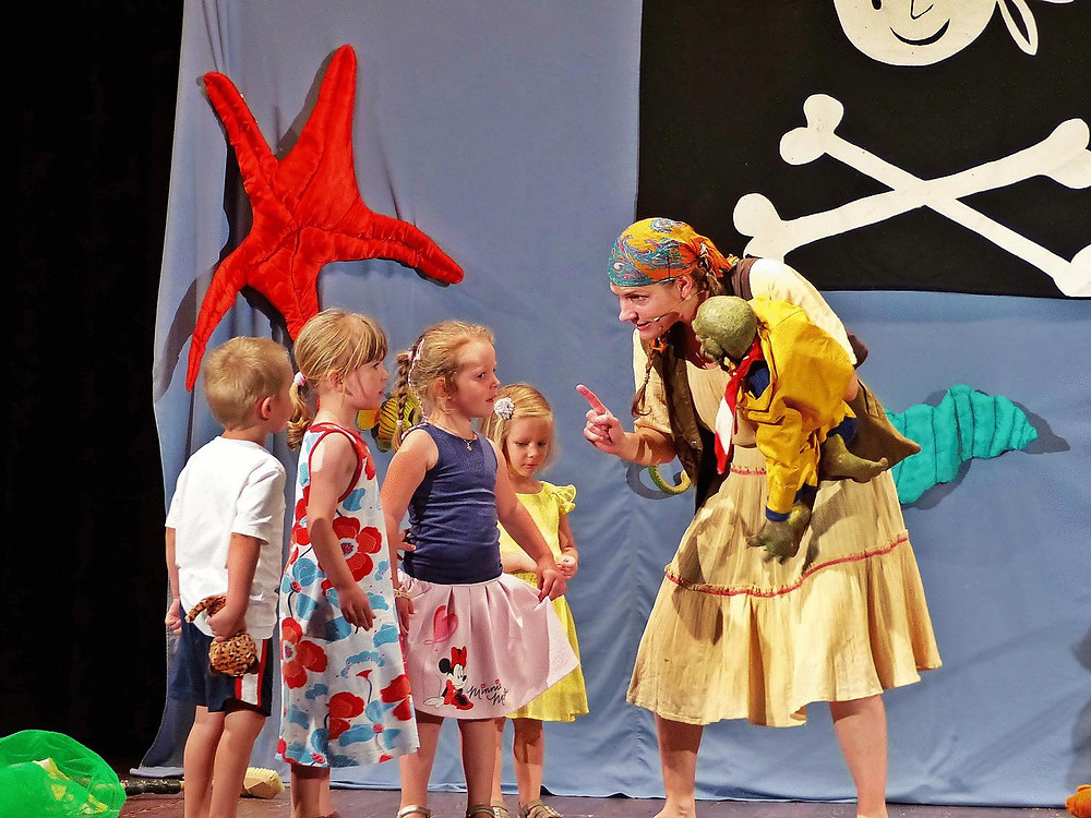 Interaktives Kindertheater | Theater Sturmvogel