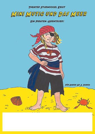 Mini Mutig Sturmvogel Plakat