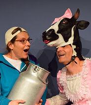 Bauerhof Kuh und Luca