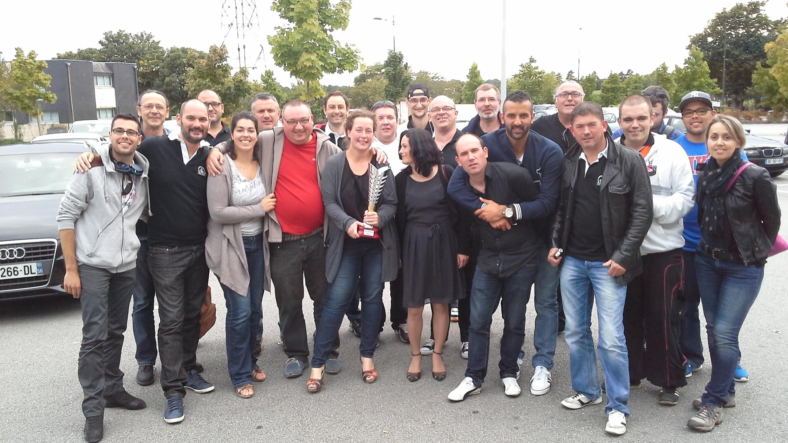 équipe du match retour derby BPC GPC