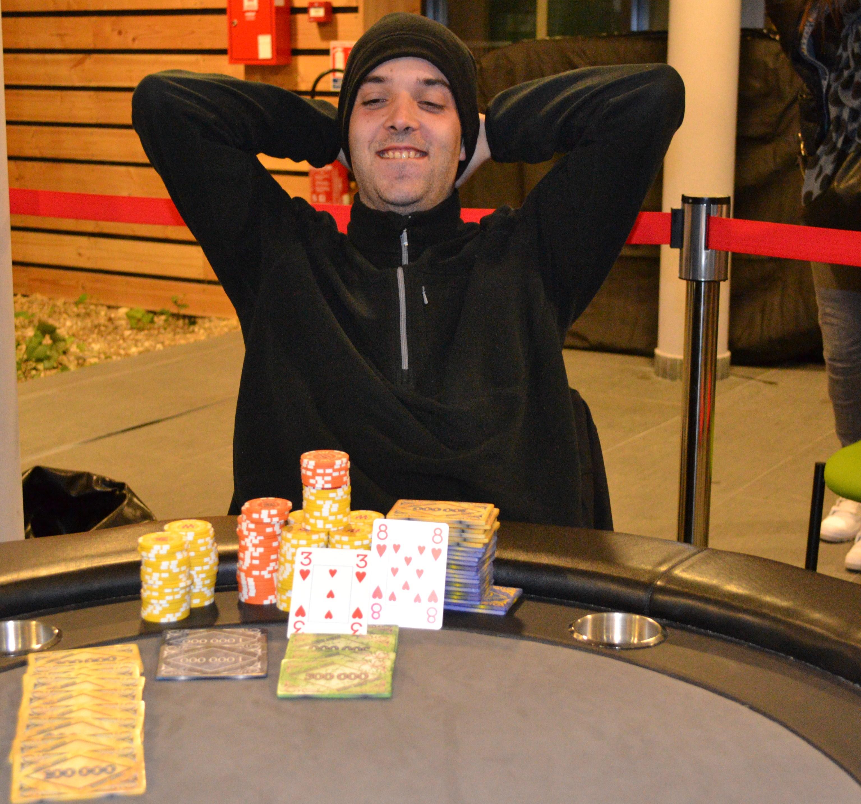 Jerome Buton vainqueur Main Event #2