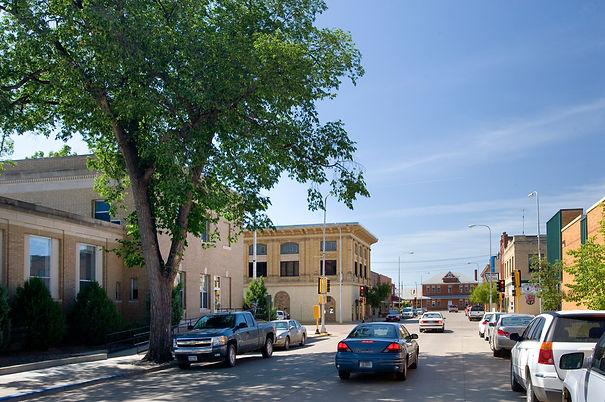 Downtown Dickinson