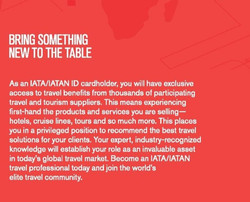 IATA Travel Card Flyer
