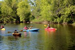 Kayak Zone Aventure famille 1