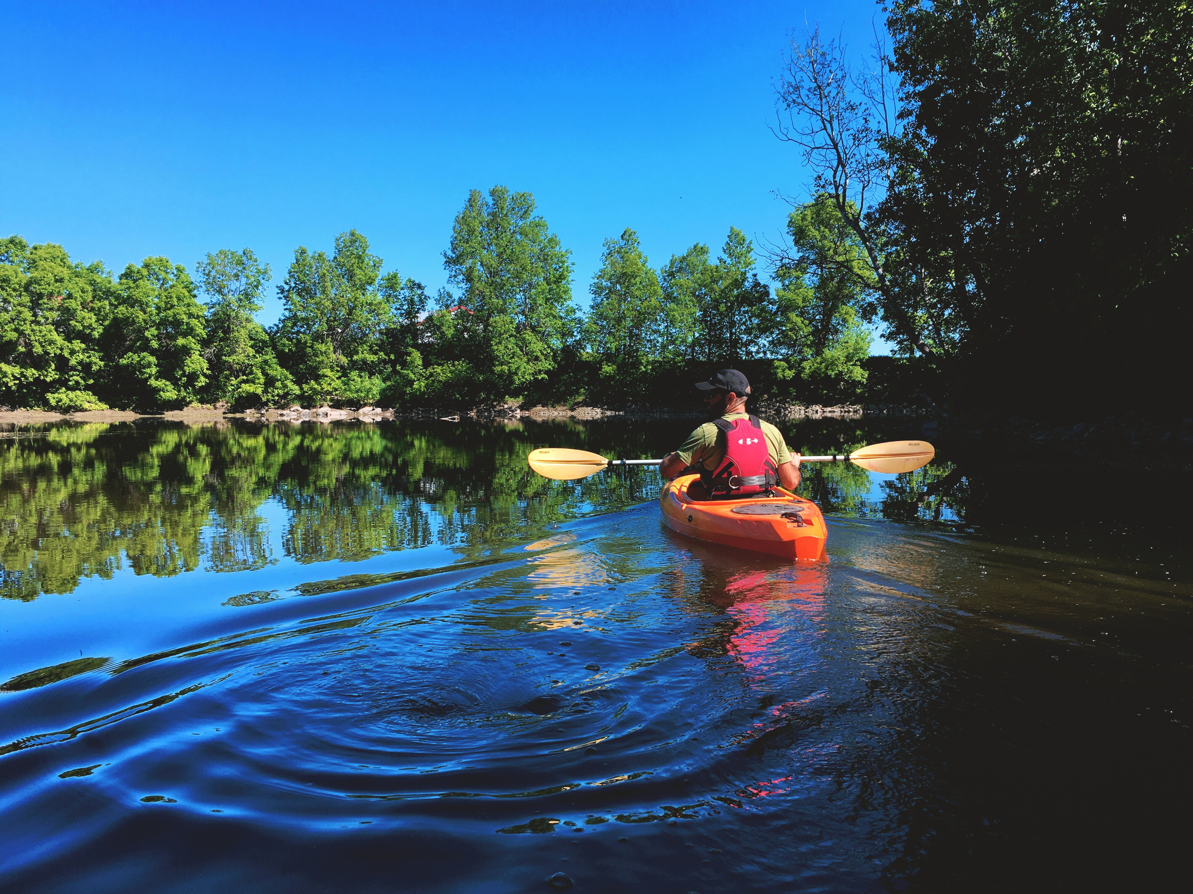 paisible rivière du Loup
