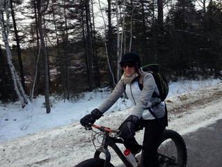 Zone Aventure c'est aussi du Fat bike l'hiver !