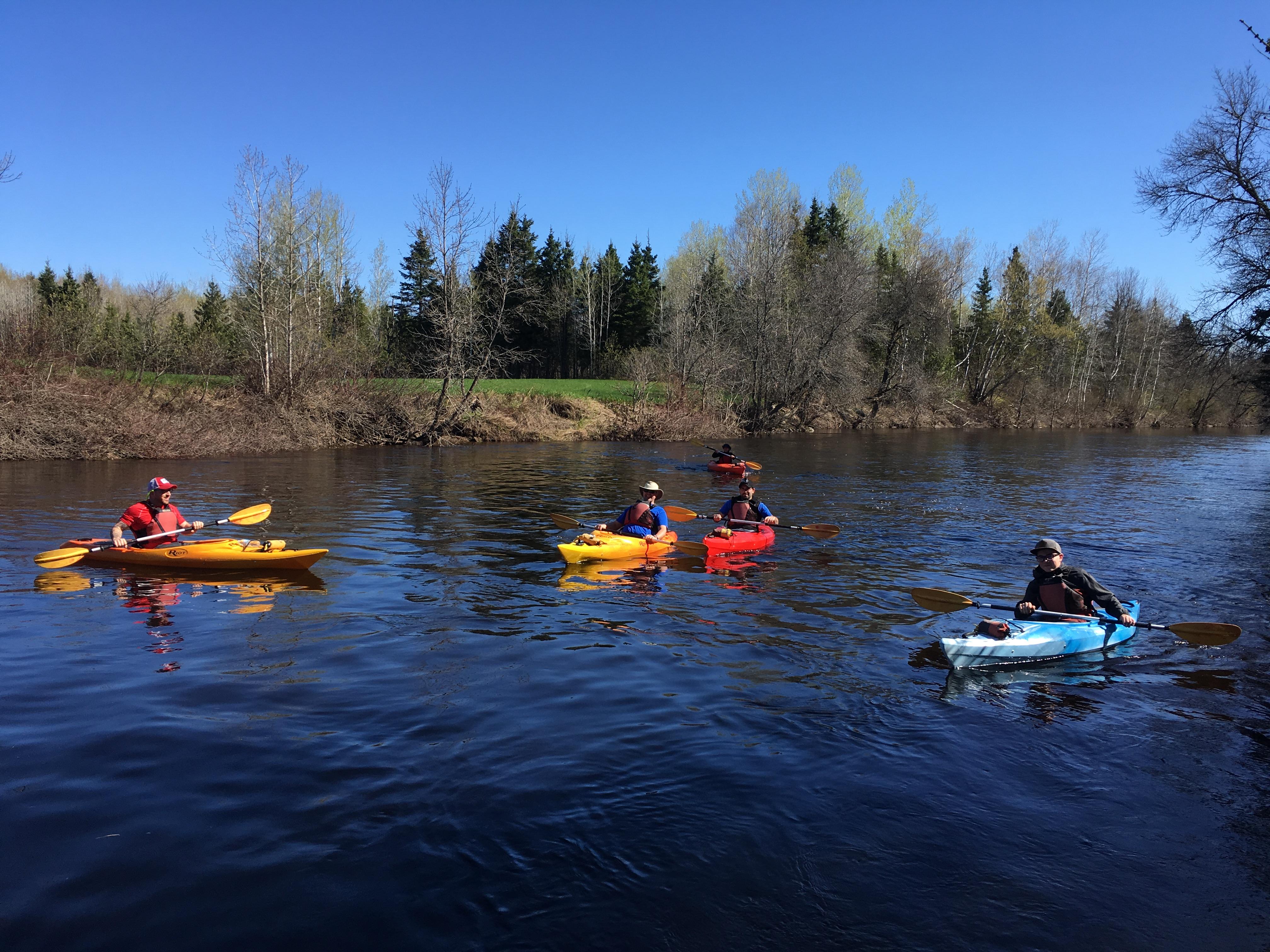Saison 2017 kayak
