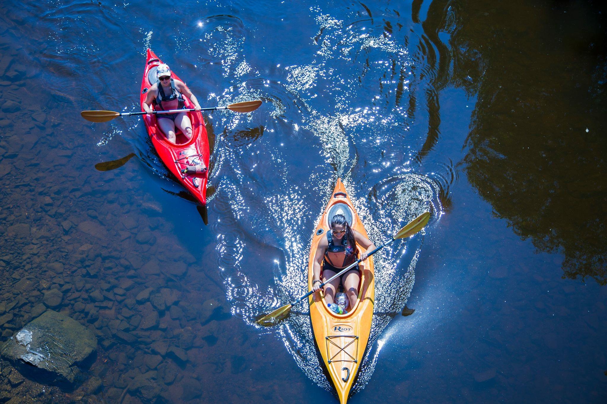 Kayak rivièere du Loup