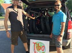 Partenariat avec Tibo Bicyk