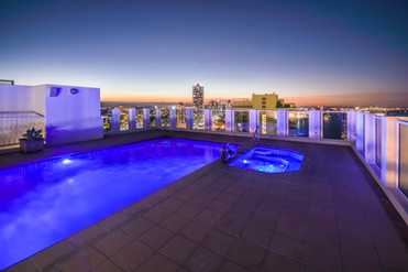 Rooftop pool - Gold Coast