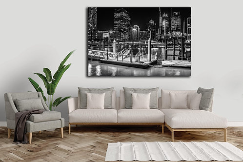 Brisbane Docks - Canvas