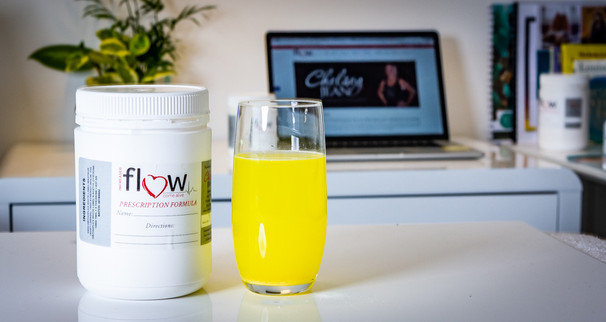 health drink - product photography