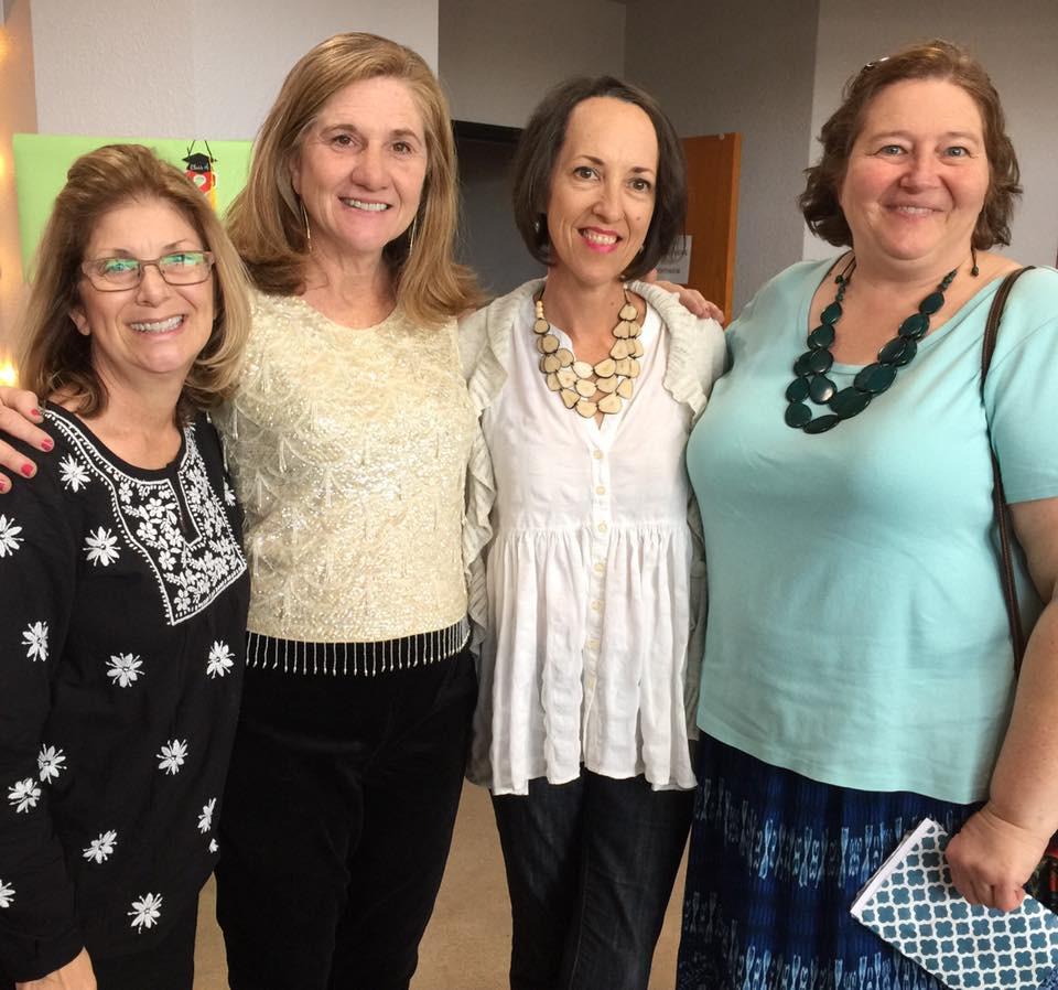 Janet Nevins, Mary Jane McCloskey, Julie Morelock, Edie Chudnow